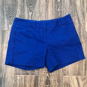 The Limited Blue Shorts Size 4